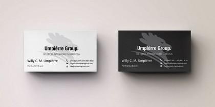 Umpierre Group Cartões de Visita